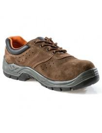 VESUBIO, zapato S1P de nobuck marrón aireado 35-47