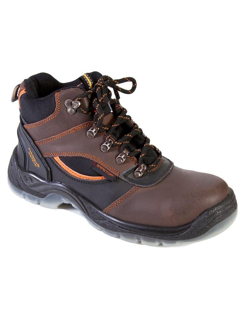 LEMAIO, bota de trekking en piel de potro marrón (no EPI)