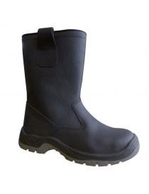 OHIO, bota de media caña S3, en piel de búfalo 37-47