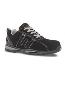 BAIO gris-negro, zapato S1P nobuck suela EVA metalfree 36-47