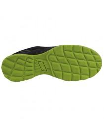 MARIO, zapato S1P deportivo negro-verde metal free 36-48