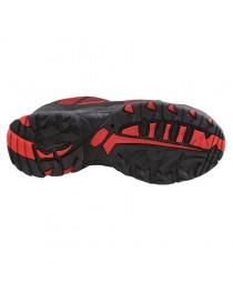 TOKIO, zapato rojo S1P sin cordones elástico Flytex 36-48