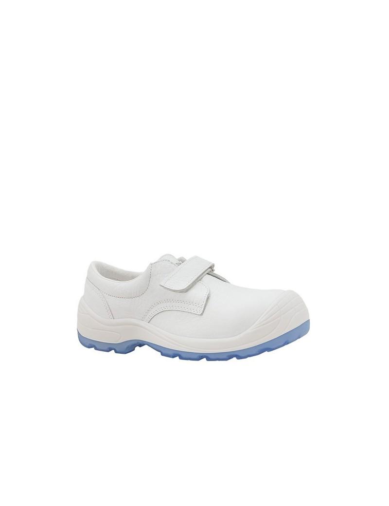 Zapato DIAMANTE VELCRO TOTALE S2 BLANCO 269