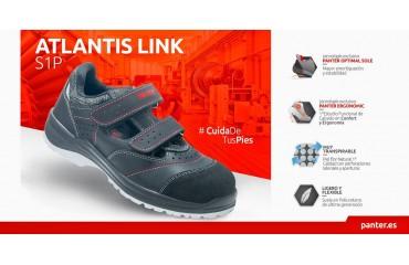 Así es el Atlantis Link S1P de Panter, el calzado de seguridad más transpirable y seguro para los meses mas calurosos de año