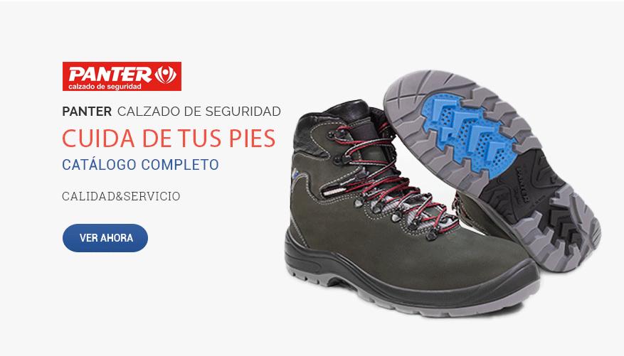 Catálogo completo calzado de seguridad de la marca Panter